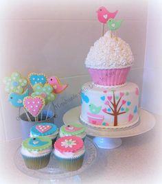 Bird Cake cupcake