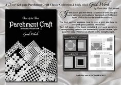 All Things Parchment Craft   : Parchment Craft Grid Work - Challenge!!