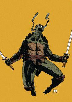 Teenage Mutnant Ninja Turtles - Leonardo by Vlad Legostayev