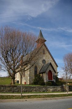 Cute little church. Sharpsburg, MD ~ My Paternal family lived there until around before the turn of the century they moved to DC... HARRIS ~ ~ GROVE ~ MORRIS ~ BIRD
