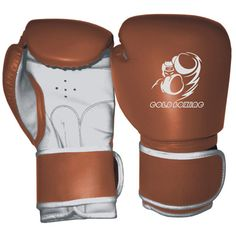 GB-200148 Boxing Gloves, Rex Leather, Machine Mold, Strap with Velcro Fastener