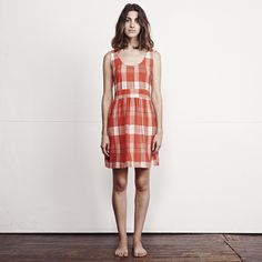 ace&jig Bungalow Dress in Punch