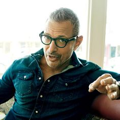 Jeff Goldblum Should Have His Own Late-Night Show Amazing Women, Beautiful Men, Beautiful People, New Fashion, Fashion Ideas, Fashion Outfits, Mens Glasses, Portraits, Mannequins
