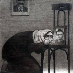 Syria Art - Youssef-Abdelke