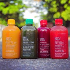 A lot of store bought juices are packed with artificial flavoring and refined sugar. @simplygreenjuices are made with whole fruits and vegetables. Health is wealth. by zegist