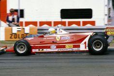 Jody Scheckter, Ferrari 312T5, 1980 Belgian GP, Zolder