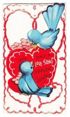 Bluebirds Sing Love Song