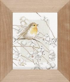 Lanarte Marjolein Bastin Collection Robin Counted by DebiCreations, $12.99