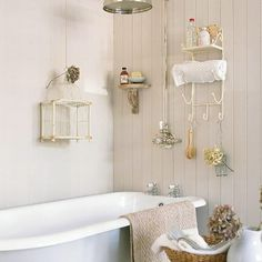 Bathroom Organization: Install Creative Storage Spaces