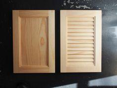 パターンは2種類。左がフラット、右がルーバー。