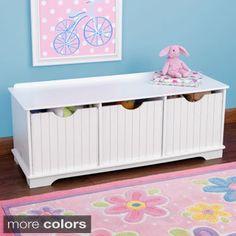 KidKraft Nantucket Storage Bench | Overstock.com Shopping - The Best Deals on Kids' Furniture