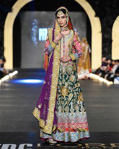 Nomi Ansari Latest Bridal Dresses Collection 2016-2017 Ft. Maya & Junaid…