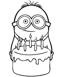 How to Draw Dave ... one of the Minions from Despicable Me Drawing ...