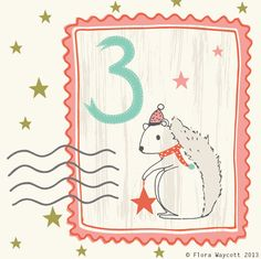 Flora Waycott Christmas advent - day 3