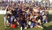 A Belgrano se le escapó el título en Liga Cordobesa; campeón...  A Belgrano se le escapó el título en Liga Cordobesa; campeón Almirante Brown  Deportes  Lo ganaba Belgrano que llegaba con el impulso del triunfo en la semifinal ante Talleres la semana pasada.  Estaba 1 a 0 con el gol de Tablada a los 6 minutos del primer tiempo pero reaccionó Almirante Brown y se impuso 2 -1. De este modo el equipo de Malagueño consiguió el título de la temporada 2015 en Liga Cordobesa por primera vez en sus…
