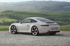 Porsche 911 50th Anniversary Edition rear view