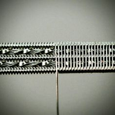 Twisted staple 3C staggered fused clapton wire.
