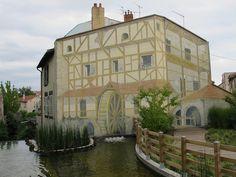 Trompe-l'œil de Slobo - Place de la Saigne, Chamalières