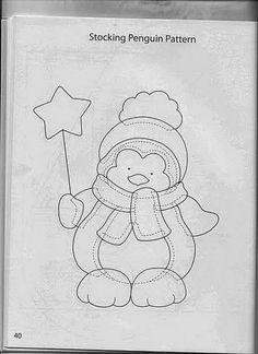 Patchwork by Vanessa Raquel Christmas Sewing, Felt Christmas, Christmas Colors, Christmas Stockings, Christmas Ornaments, Christmas Applique, Applique Templates, Applique Patterns, Applique Quilts