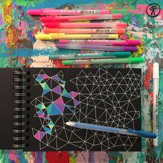 Art journals, art journal pages, journal ideas, gel pen art, gel pens Art Journal Pages, Doodle Art Journals, Journal Ideas, Gel Pen Art, Gel Pens, Smash Book, Chinoiserie, Pen Doodles, Doodles Zentangles