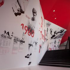 Environmental Graphics. The Ajax Experience - Tomorrow Awards