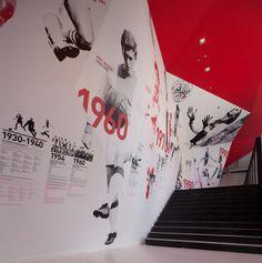 Environmental Graphics. The Ajax Experience - Tomorrow Awards