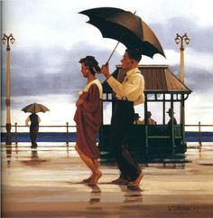 The Shape Of Things To Come - Jack Vettriano
