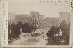 um 1885 Berlin - Belle-Alliance-Platz (heute Mehringplatz)