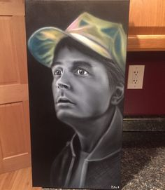 e191852db18 Fan Art Marty Mcfly Back to the Future. Hand by HobbyOfTheMonth Marty  Mcfly
