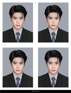 cr: on pict💞 Taeyong, Nct 127, Id Photo, Pass Photo, Jeno Nct, Valentines For Boys, Jung Jaehyun, Jaehyun Nct, Na Jaemin