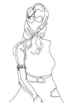 32 best line drawings people images Discount Oakley Sunglasses for Men art pen and ink drawing woman in sunglasses and by vhmckenzie 10 00 penandink