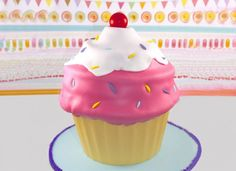 Giant ice cream swirl cupcake from My Cupcake Addiction! Check out our 8 giant cupcake tutorials - dare you not to want cake afterwards!