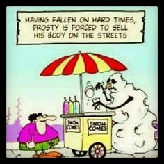 Holiday Frosty The Snowman Humor :)