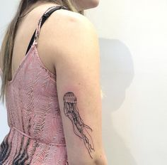 Jellyfish tattoo!!
