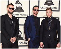 Rock band Highly Suspect wearing the John Varvatos V790, V602, and V796 frames from REM Eyewear
