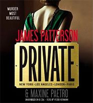 I finished listening to Private (Unabridged) by James Patterson, Maxine Paetro, narrated by Peter Hermann on my Audible app. Try Audible and get it free. James Patterson, Peter Hermann, Baker And Taylor, The Selection, Murder, Vampire Diaries Stefan, Christine Feehan, Vampire Books, Michael Trevino