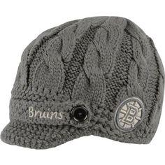 faf98b4d1be New York Rangers Women s Grey Brand Skybox Visor Knit Hat