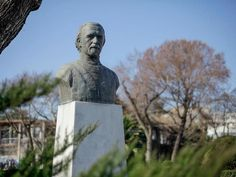 Bust of Manolis Andronikos Alexander The Great, Thessaloniki, Buddha, Sculptures, Meet, Statue, City, Cities, Sculpture