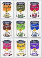 Warhol Art Projects for Kids: art trading cards