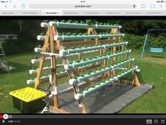 A frame hydroponics - on youtube
