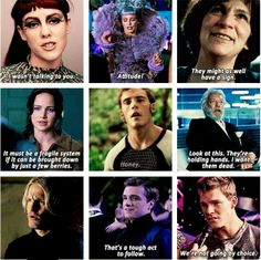 Sassy Catching Fire moments.