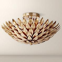 "Close To Ceiling Lights Pleasing George Kovacs Bling Bling 14"" Wide Flushmount Ceiling Light  Home Design Ideas"