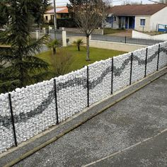 Gabion wall art - Top pictures