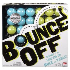Bounce Off is new ball bouncing game from Mattel that is sure to test your…
