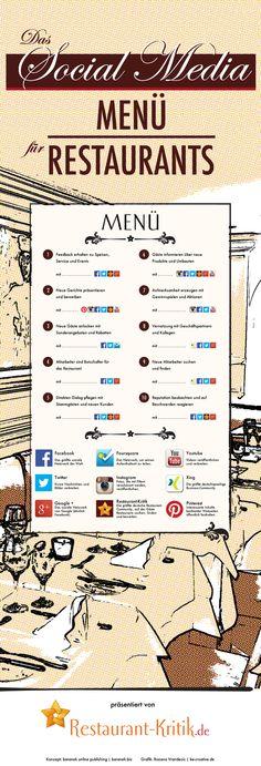 Wie schmeckt das Social Media Menü den Gästen richtig gut? - Vertriebsberatung von @Silke Stoltenberg Loers #in