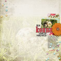 Little Butterfly Wings: Grandma's Garden, Hello Spring (Alpha); fonts: Bohemian Typewriter, Peach Milk, Crash Numbering