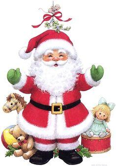 Santa | Ruth Morehead art
