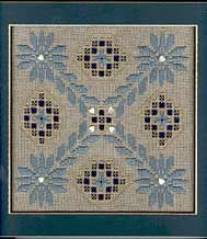 Free Patterns – Hardanger - Daisy Paths -  These daisy paths would be great to take a walk down. Design by Roz Watnemo of Nordic Needle, Inc.