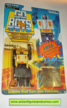gobots LEADER-1 one I 1985 tonka ban dai toys action figures moc mip mib vintage transformers
