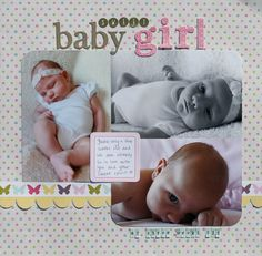 sweet baby girl - Scrapbook.com